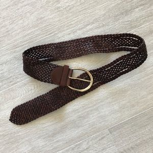 BCBGMAXAZRIA leather waist belt